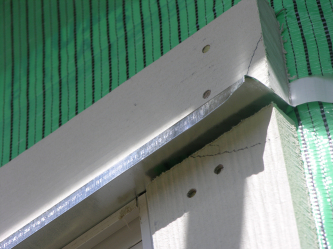 Window metal flashing